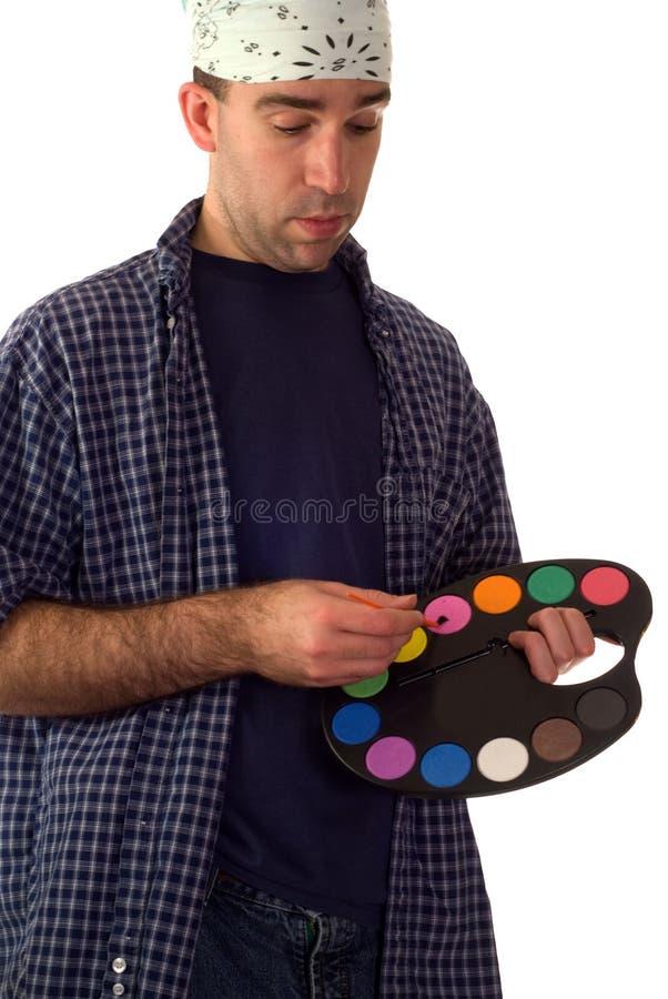 malarzów potomstwa obraz stock