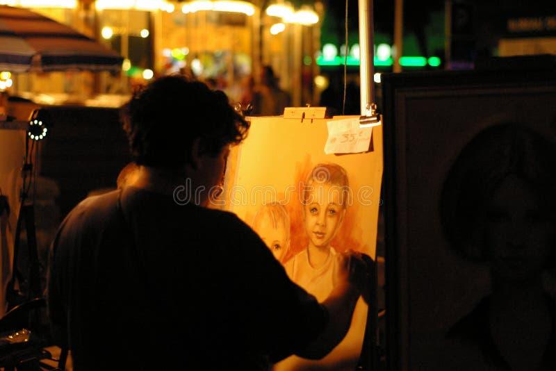 malarz obrazy stock
