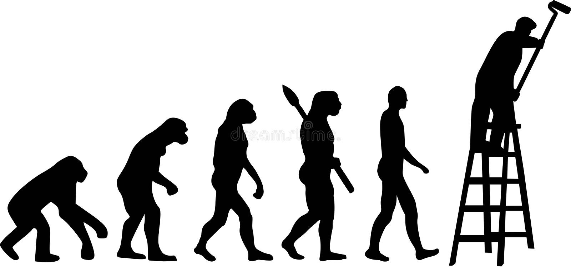 Malarz ewolucja ilustracji