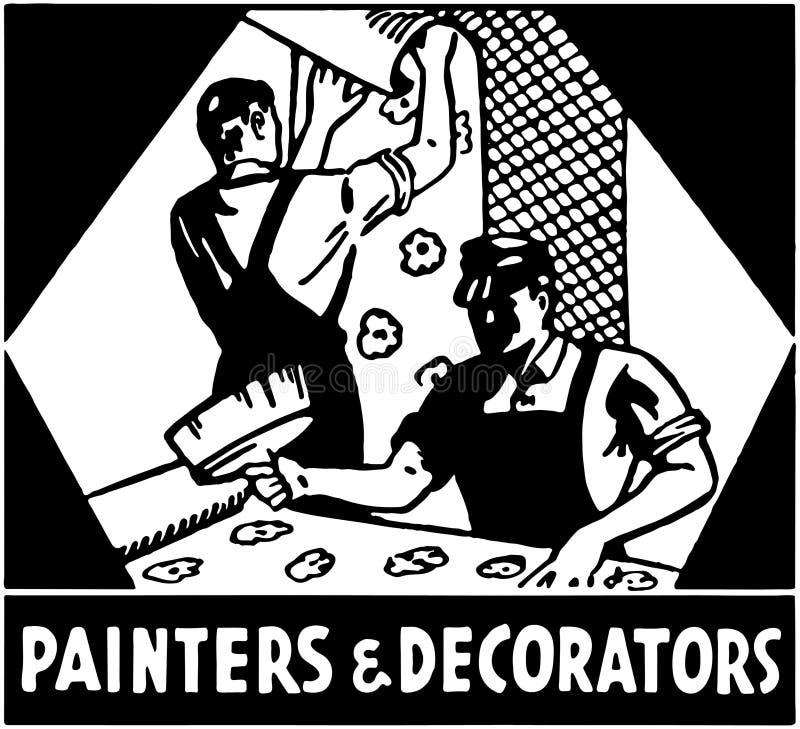 Malarzi I Decorators ilustracji