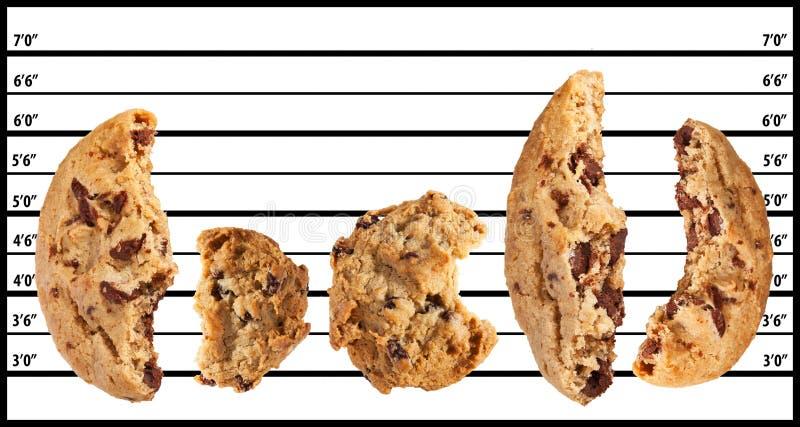Malas galletas fotos de archivo