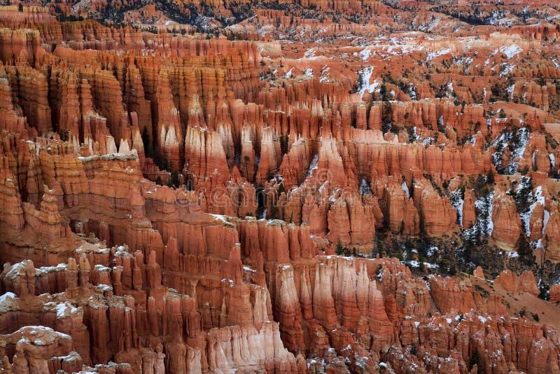 Malas sombras de Bryce Canyon imagen de archivo libre de regalías