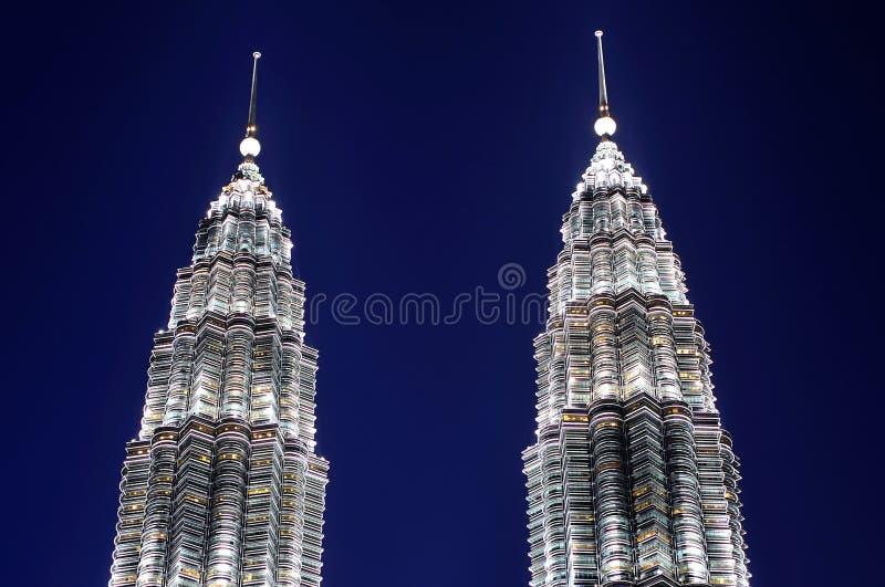 Malasia; Kuala Lumpur; torres gemelas de petronas foto de archivo