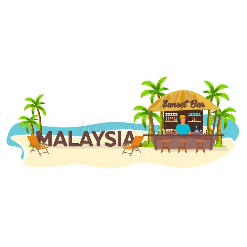malasia Viajes Palma, bebida, verano, sillón, tropical libre illustration