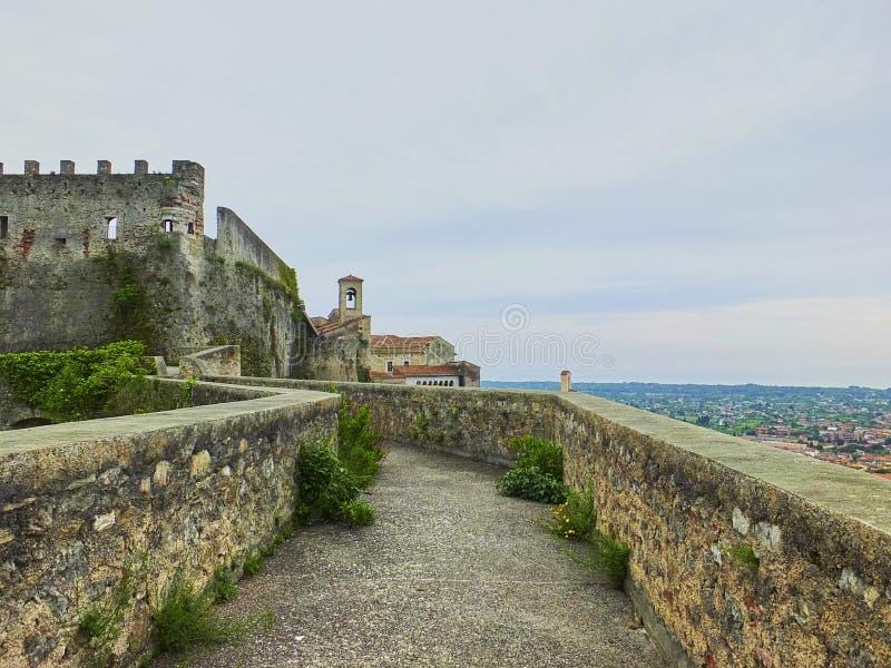 Malaspina slott arkivbilder