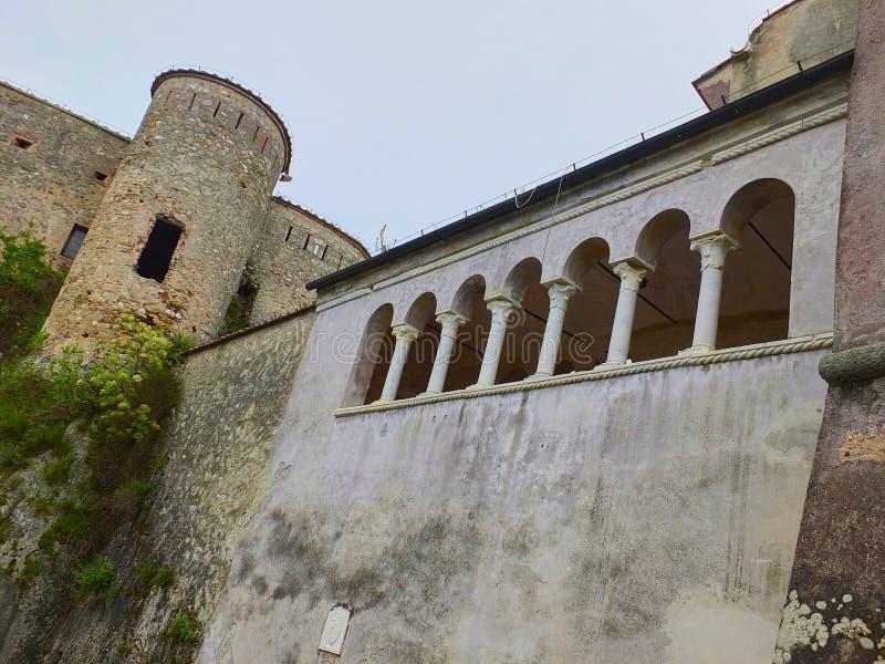 Malaspina slott royaltyfri fotografi