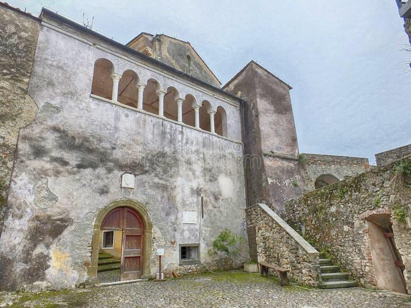 Malaspina slott arkivfoto