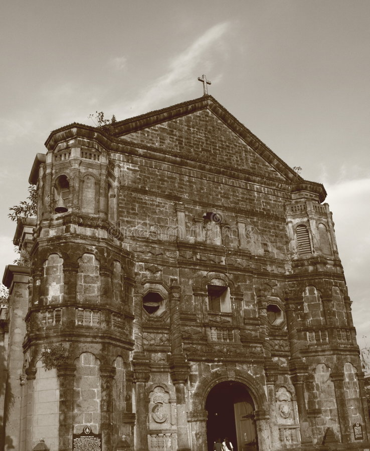 Malate Church royalty free stock images