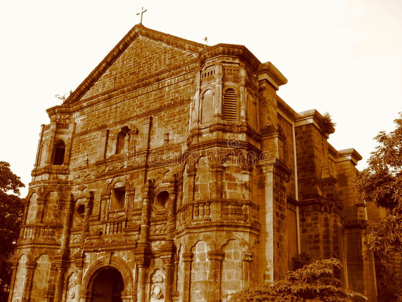 Download Malate Church In Manila Royalty Free Stock Photography - Image: 4769187