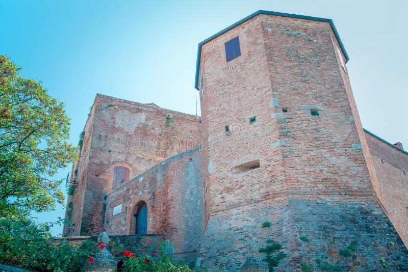 Malatesta Castle in Santarcangelo Romagna Italy stock image