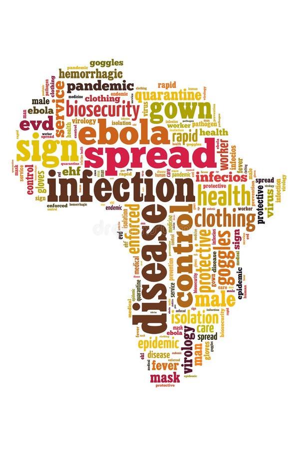 Malattia di ebola immagini stock