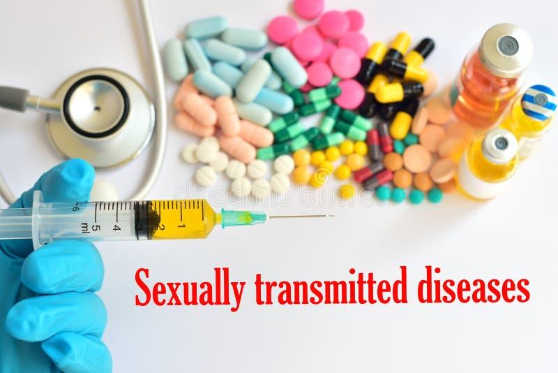 Malattie sessualmente trasmesse fotografia stock