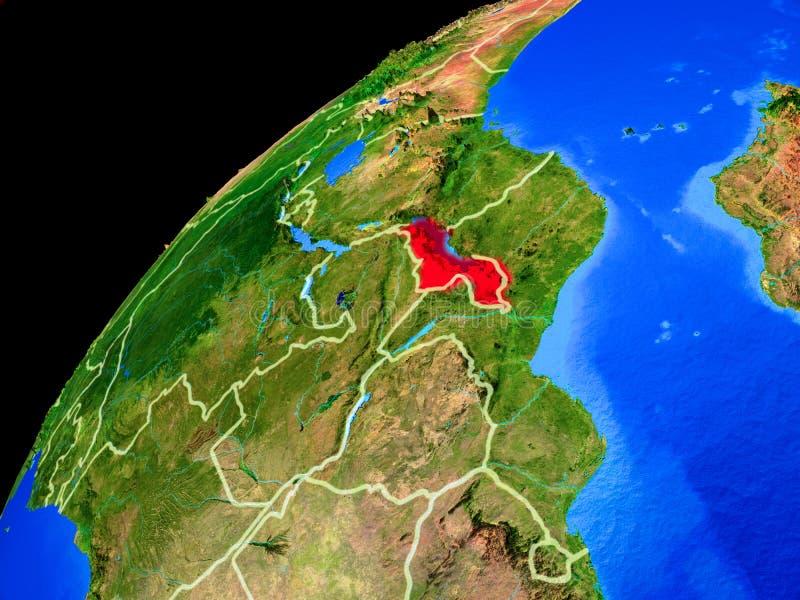 Malawi en la tierra del espacio libre illustration