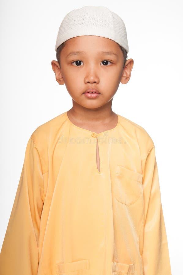 Cute Muslim Boy stock photography
