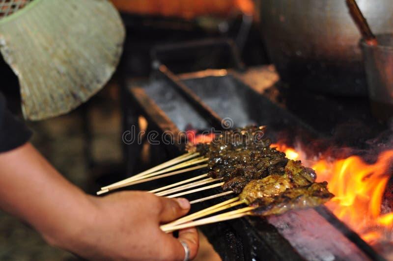 Download Malay Satay stock photo. Image of dark, dish, asia, beef - 7698708