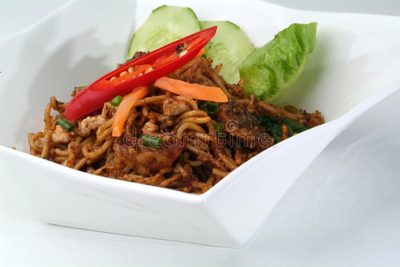 Malay Style Fried Noodles Stock Images