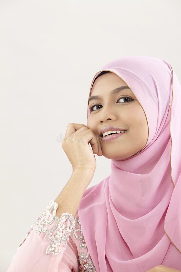 Malay woman royalty free stock photography