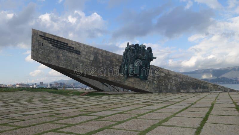 Malaya Zemlya commémoratif, Novorossiysk image libre de droits