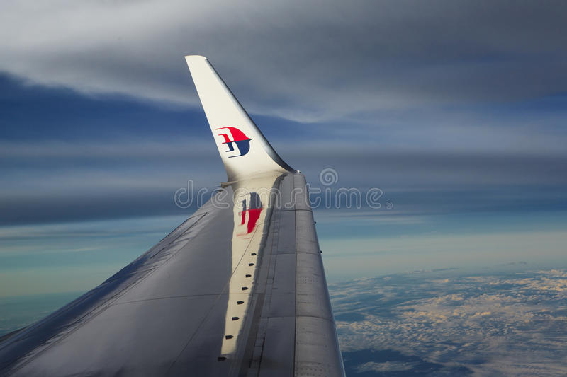 Malaysia Airlines royaltyfri foto