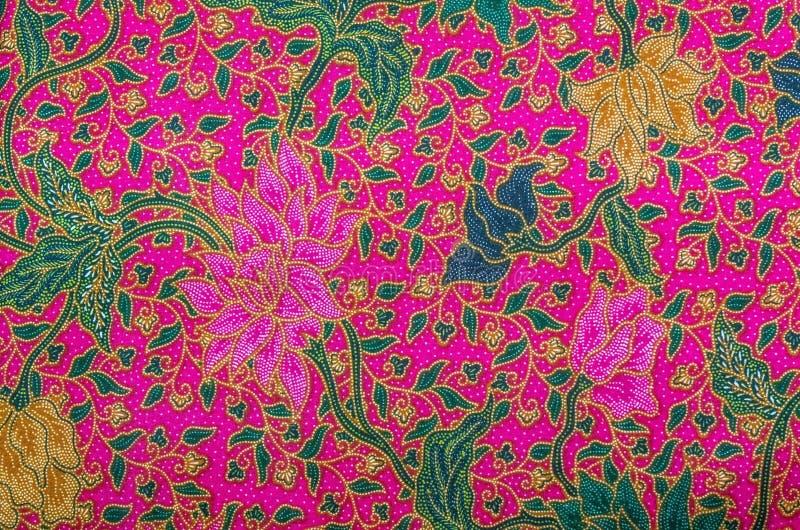 Malaysia Batik Pattern XI royalty free stock images
