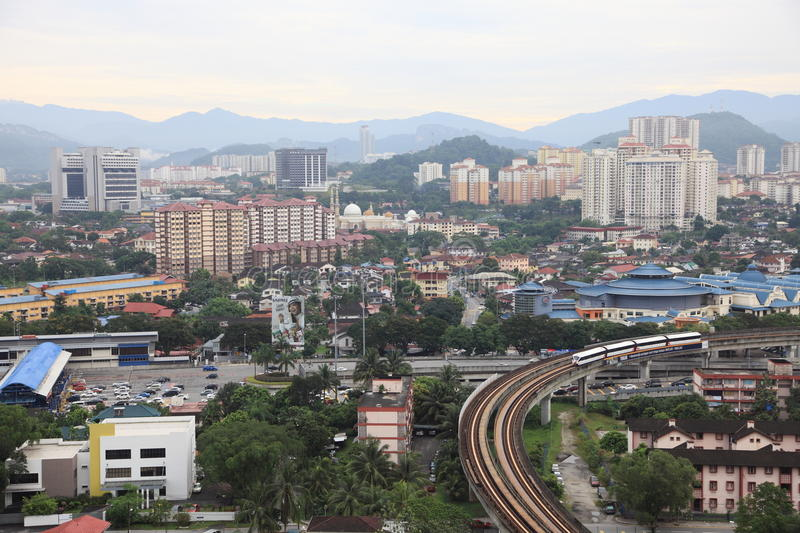 Malaysia city view stock images