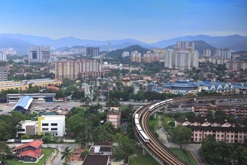 Malaysia city view royalty free stock image