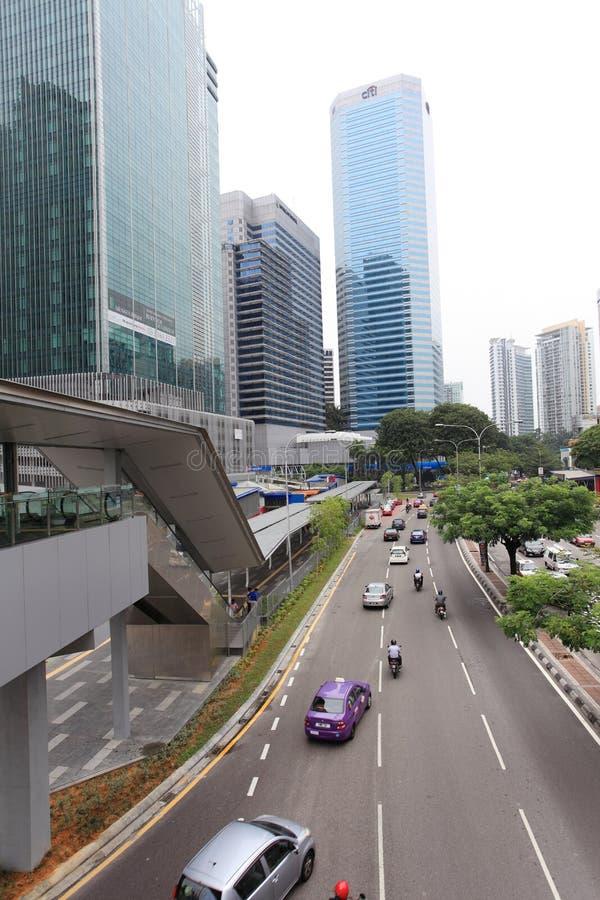 Malaysia city view royalty free stock photos