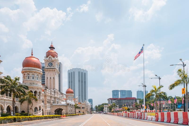 Malaysia, Dataran Merdeka royalty free stock photography