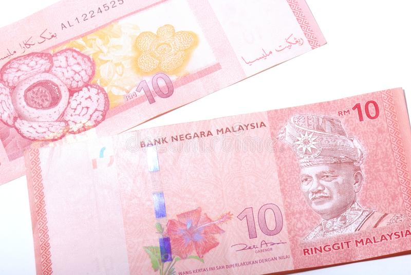 Malaysia 10 Dollars Note