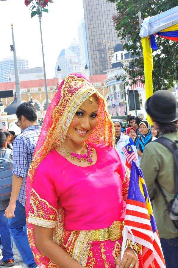 malaysia för etnisk flagga mång- national royaltyfria bilder