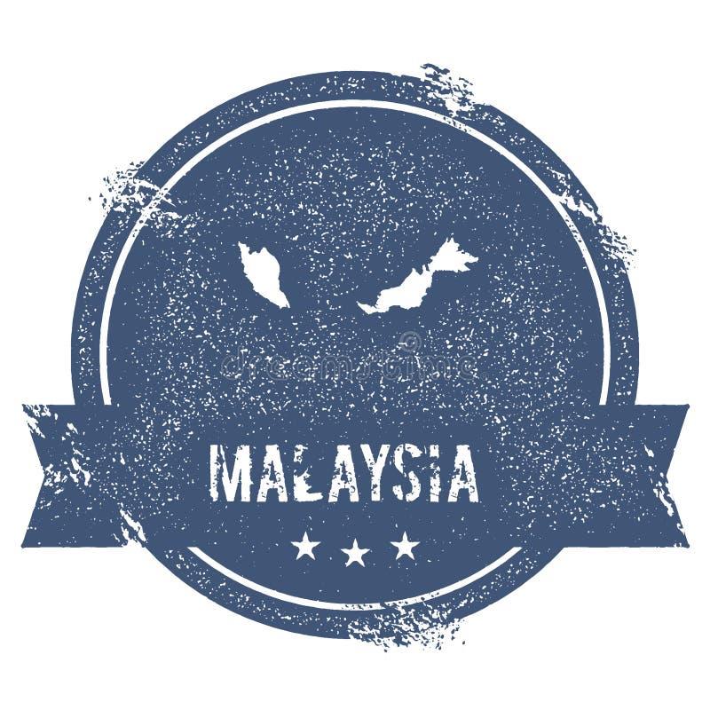 Malaysia fläck vektor illustrationer