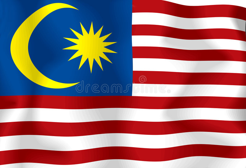 Download Malaysia Flag Stock Photo - Image: 6921850