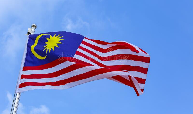Malaysia Flag, Jalur Gemilang Stock Image - Image of nation ...