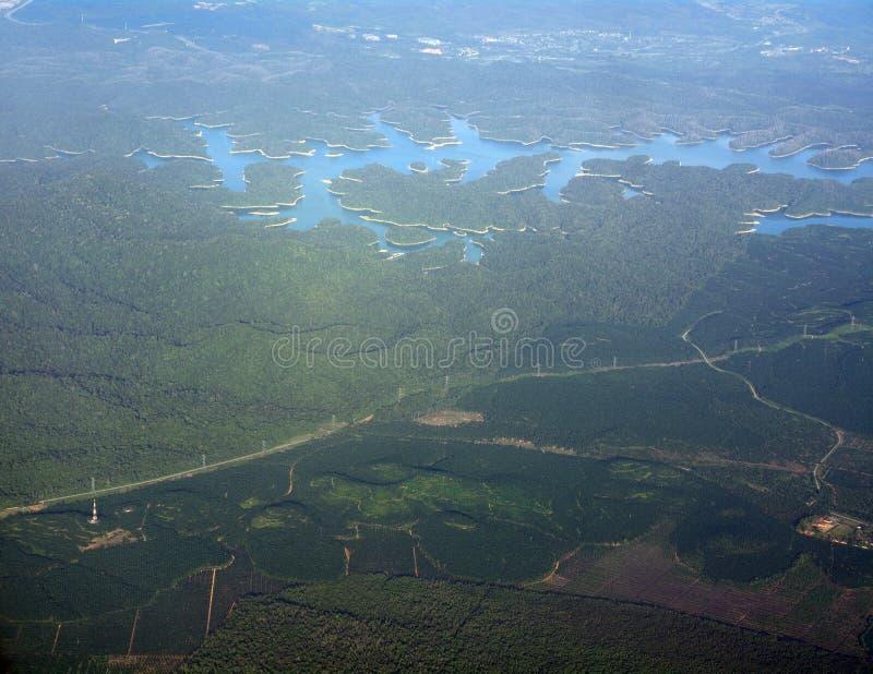 Malaysia från luften, Malaysia royaltyfria foton