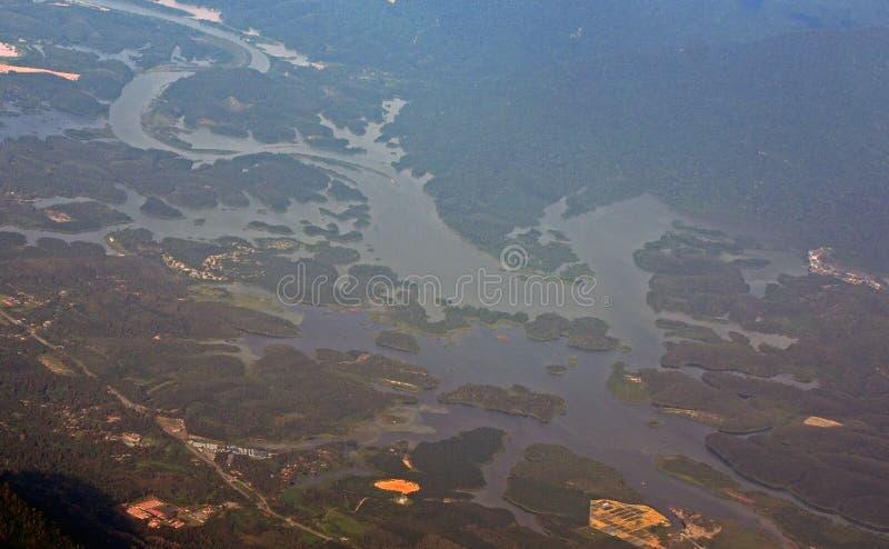 Malaysia från luften, Malaysia arkivfoton