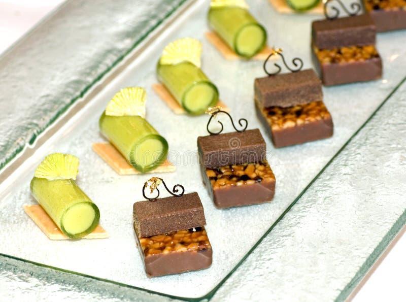 Malaysia Kuala Lumpur: Kulinarisch; Schokoladencreme stockfotografie