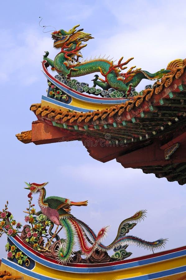 Malaysia Kuala Lumpur: Templo de Thean Hou imagens de stock