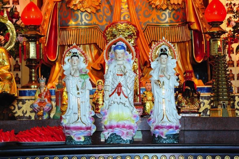 Malaysia Kuala Lumpur: Templo de Thean Hou foto de stock royalty free