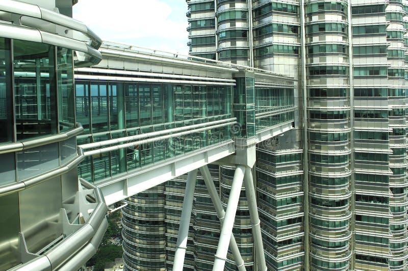 Malaysia, Kuala Lumpur: Torres de Petronas foto de stock royalty free