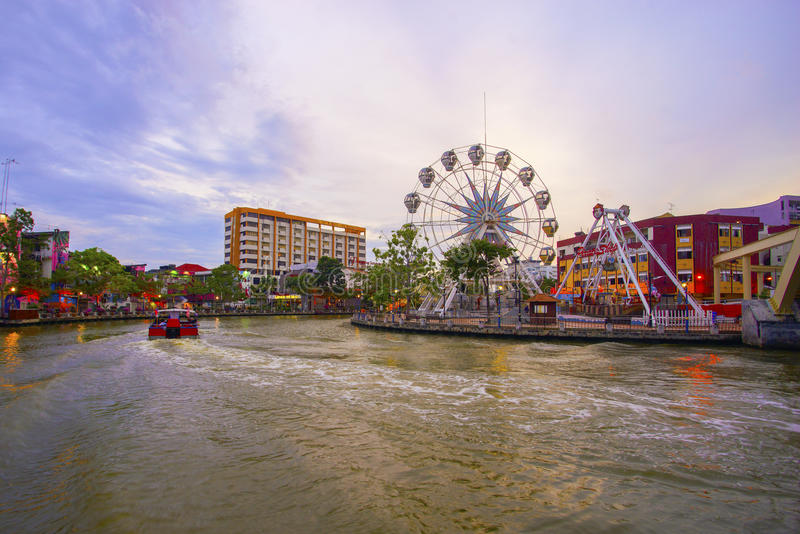 Download MALAYSIA - MARCH 23: Malacca Eye On The Banks Of Melaka River On MARCH 23, 2017 Malaysia. Malacca Has Been Listed As A UNESCO Editorial Stock Photo - Image of colorful, 2008: 93653948