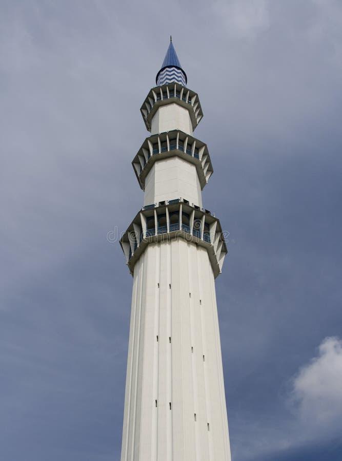 malaysia minaretu meczet zdjęcie royalty free