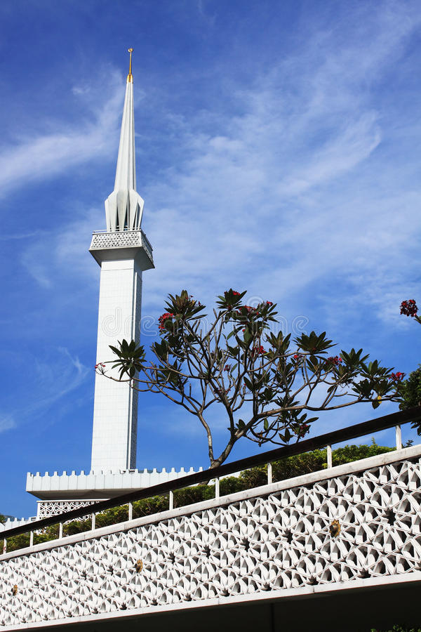 Malaysia National Mosque Stock Photos