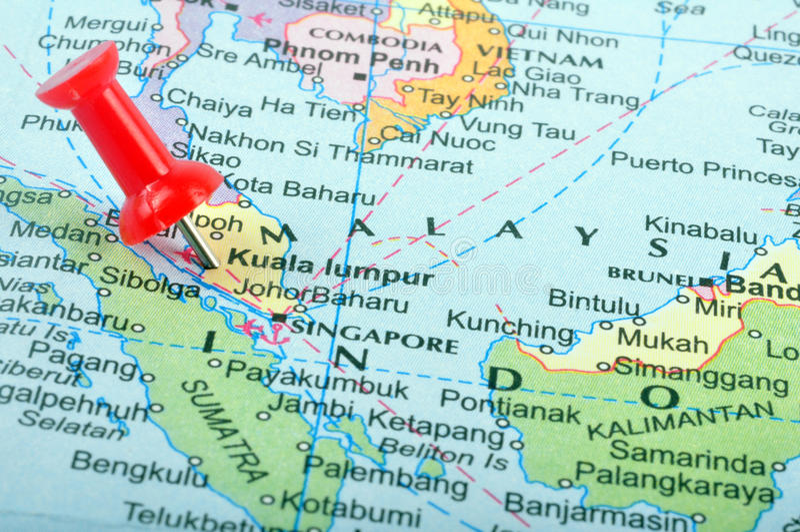 Malaysia no mapa