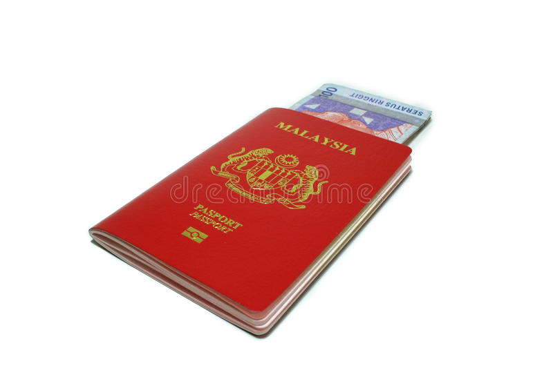 Download Malaysia Passport And Notes Stock Photo - Image: 15974540