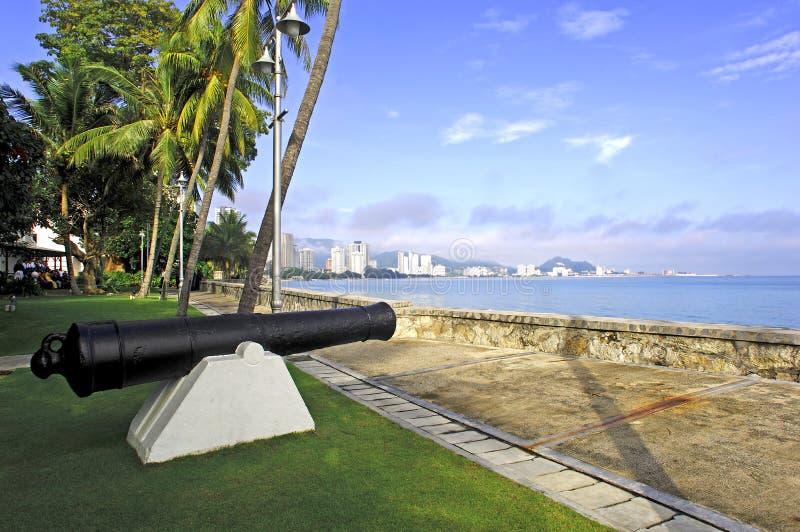 Malaysia; Penang; Fort cornwallis lizenzfreies stockbild
