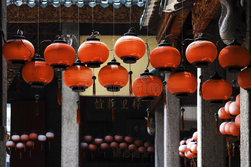 Malaysia, Penang: Templo chinês foto de stock