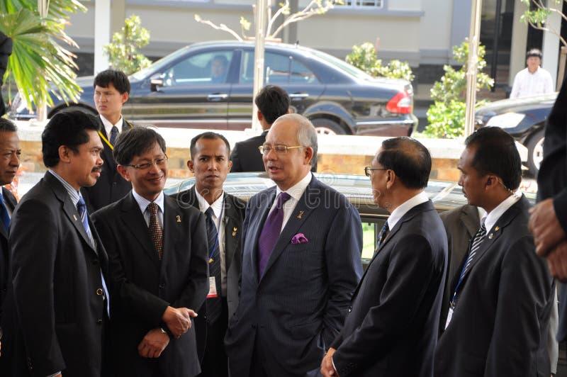 Malaysia Prime Minister royalty free stock photos