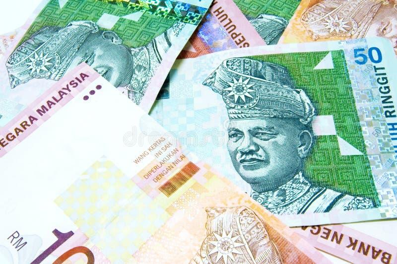 malaysia ringgit royaltyfri fotografi