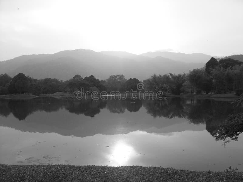 Malaysia Taiping Garden Park. One royalty free stock image