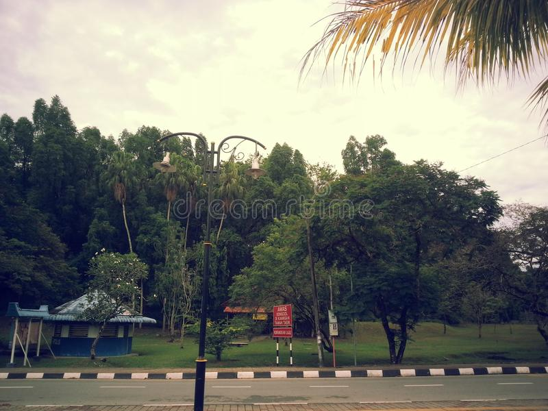 Malaysia Taiping Garden arkivbilder